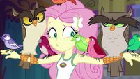 Fluttershy in deep confusion EG4