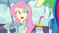 Fluttershy unable to hear Rainbow Dash EGROF