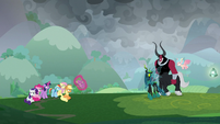Legion of Doom defeats the ponies S9E25