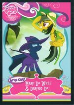 Mare Do Well & Daring Do Enterplay trading card