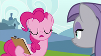 "Pinkie Pie ""rating between one and seven"" S7E4"