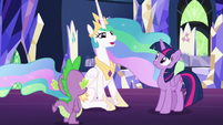 "Princess Celestia ""let me tell you a story"" S7E1"