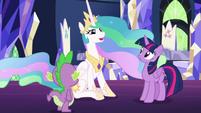 """Princess Celestia """"let me tell you a story"""" S7E1"""