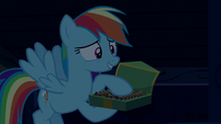 Rainbow Dash --something in the cookies-- S6E15