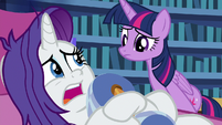 "Rarity ""Spike declined my invitation"" S9E19"