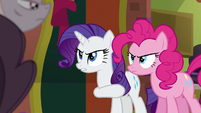 "Rarity ""tell these ponies what to think"" S6E12"