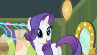 Rarity '...and I am a bit late as it...' S4E08