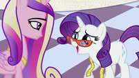 Rarity and Cadance S2E25