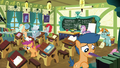 School foals cleaning the classroom S8E12.png