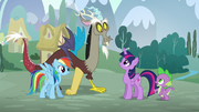 """Spike """"Did you rehearse before you found us?"""" S5E22"""
