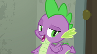 "Spike ""I'm starving!"" S9E5"