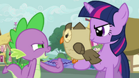 "Spike and Owlowiscious ""you know 'hoo'"" S03E11"