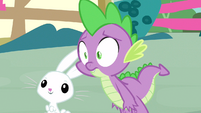 Spike give us away S3E11