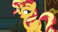 "Sunset Shimmer ""sure you're up for helping me"" EGFF"