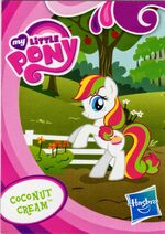 Toys 'R Us Coconut Cream collector card