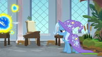 Trixie facing down the flash bees S9E20