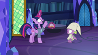"Twilight Sparkle ""another question!"" S9E16"