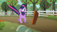 Twilight Sparkle Near Miss S2E3