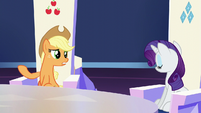 Applejack --especially when it comes to a Crystalling-- S6E1