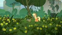 Applejack has a lot more weeds to pull S5E16