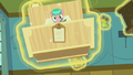 Aquamarine's bed flies at Twilight and Spike S7E3.png
