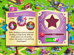 Betty Bouffant album page MLP mobile game