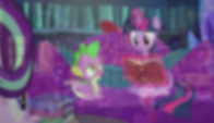 Blur transition to A Hearth's Warming Tale S6E8