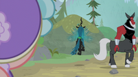 Chrysalis and Tirek leave on their own S9E8