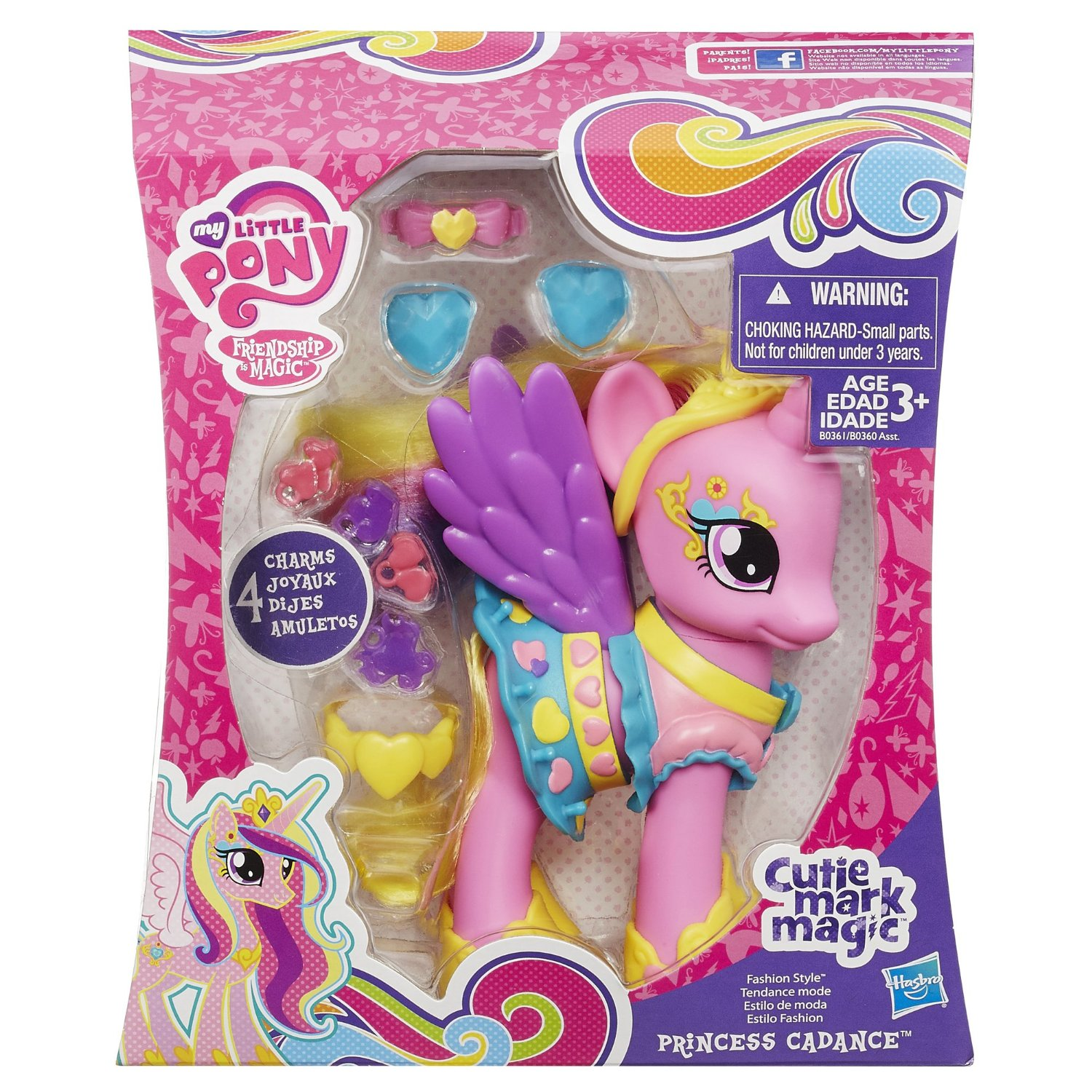 Image Cutie Mark Magic Princess Cadance Fashion Style Doll My Little Pony