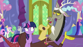 Discord appears curled around Twilight S7E1.png