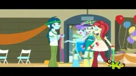 Equestria Girls - Vamos arrumar tudo - Time to come together - Brazilian version