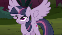 Fake Twilight Sparkle spreads her wings S8E13