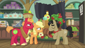Filthy Rich apologizing to young Applejack S6E23.png