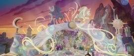 Magical energy envelops all of Canterlot MLPTM
