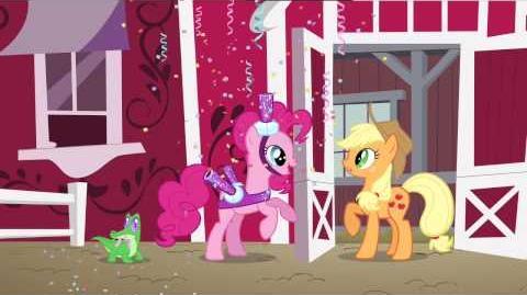 Pinkie Pie's Singing Telegram (English)