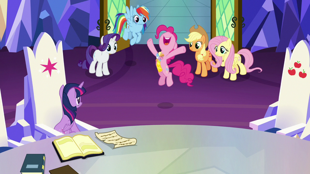 """File:Pinkie Pie """"the most exciting day of my life!"""" S7E11.png"""