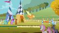 Ponies watch Applejack land S1E13.png