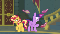Princess Twilight looking at old, secret books EGFF