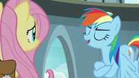 "Rainbow Dash ""miss a book coming out!"" S9E21"