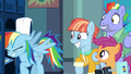 Rainbow Dash bangs her head against locker shelf S7E7.png
