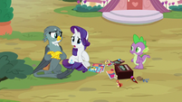 "Rarity ""more time you two spent together"" S9E19"