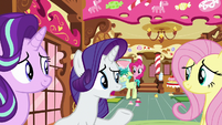 "Rarity ""never see each other again"" S8E2"