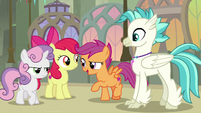 "Scootaloo ""let's add some positives"" S8E6"