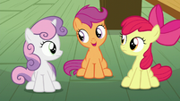 Scootaloo --that didn't have anything to do with getting a cutie mark-- S6E4