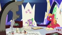 "Spike ""the whole game coming to life"" S6E17"