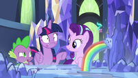 Spike -that's not why she looks like that- S7E10
