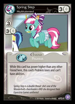 Spring Step, Multitalented card MLP CCG