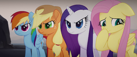 Twilight's friends getting upset at her MLPTM