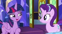 Twilight -what she learned about friendship- S8E1