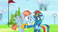 "Windy Whistles ""it's so great to see you, too!"" S7E7"